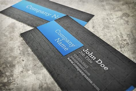 business card mockup template with various realistic business card mockup template 1 design panoply