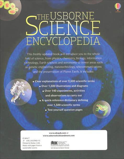 science encyclopedia usborne science encyclopedia 2015 edition 000980 details rainbow resource center inc