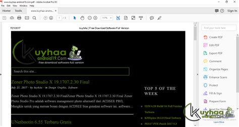 adobe acrobat pro full version kuyhaa download adobe acrobat pro dc 2017 012 2009 full terbaru
