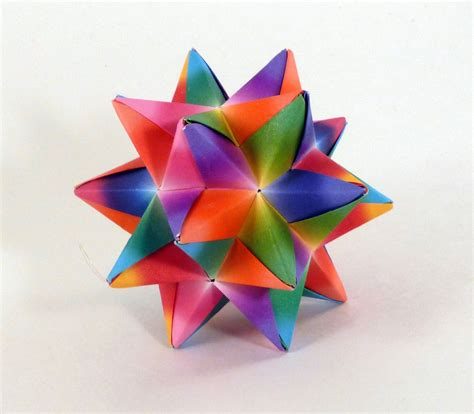 Origami Decorations - rainbow origami rainbow decoration rainbow