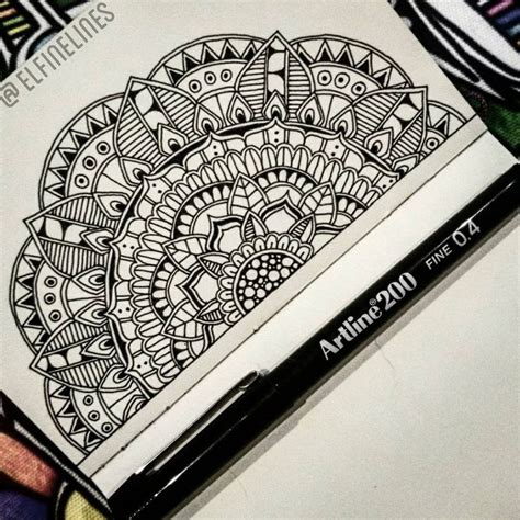doodle how to start 25 best ideas about mandala drawing on