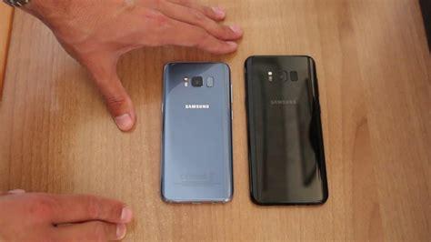 Samsung S8 Blue Coral galaxy s8 blue coral vs s8 plus black confronto e