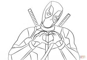 deadpool coloring deadpool coloring pages printable az coloring pages