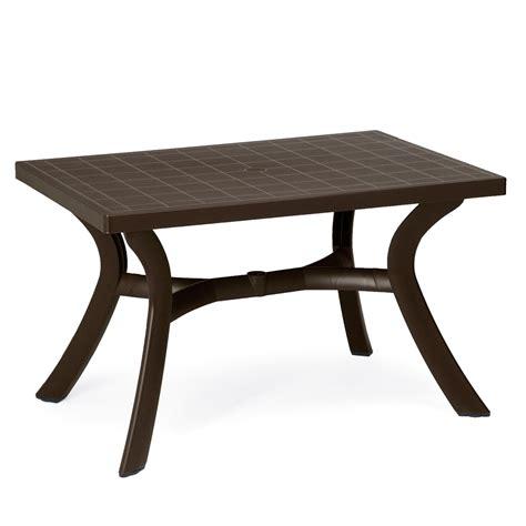 tavoli in resina da giardino tavolo da giardino in resina nardi toscana 120 arredas 236