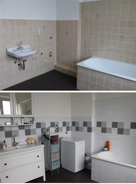 badezimmer fliesen aufpeppen altes badezimmer aufpeppen vorher nachher bilder