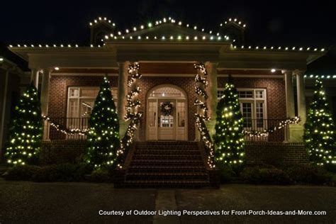 exterior holiday light ideas outdoor light ideas to make the season sparkle