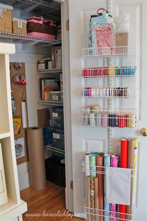 Craft Room Closet Storage Ideas by 25 Best Ideas About Craft Closet Organization On