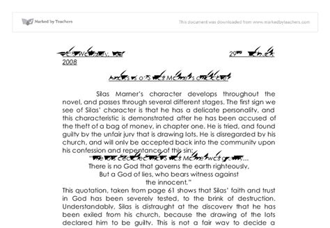 Silas Marner Essay by Silas Marner Character Analysis Essay Orderessays Web Fc2