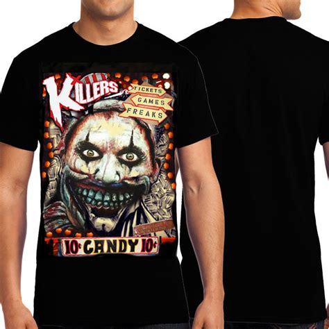 Tshirt Big Show knd twisty clown american horror story freak show
