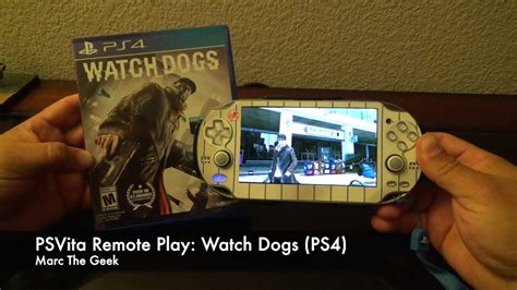 psvita remote play  dogs ps youtube