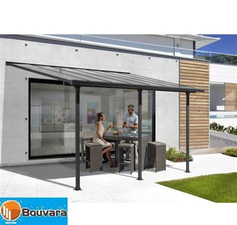 Carport Toit Terrasse En Aluminium 4x3 M Bouvara Tt3042al