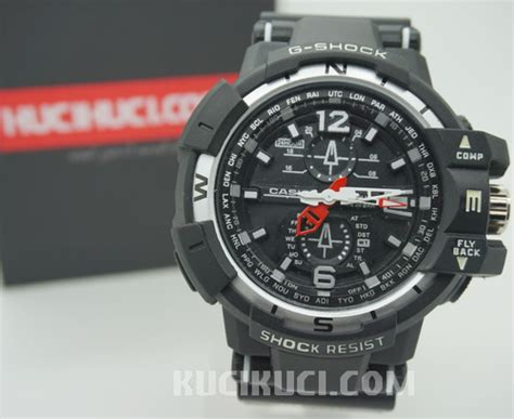 G Shock Ga 310 Black Kw g shock gwa 1100 analog black silver kucikuci