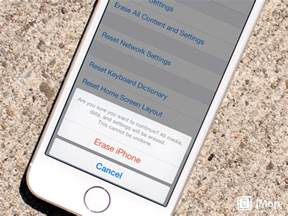 how to reset iphone to new how to wipe all personal data and erase your iphone and imore
