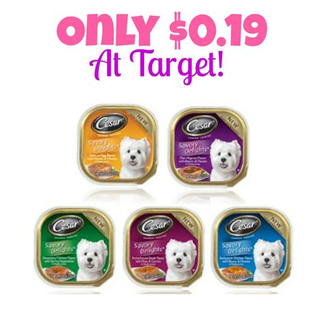 only pet food cesar food only 0 19 at target mojosavings