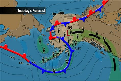 alaska current weather map journey hummingbird migration 2009