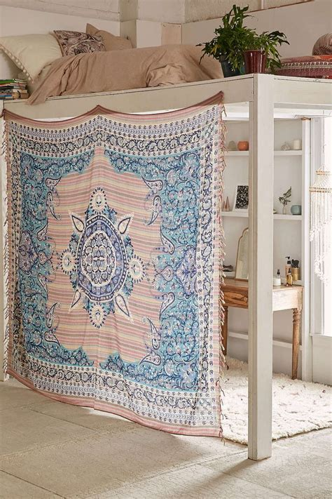 bed tapestry best 25 dorm loft beds ideas on pinterest dorm bed