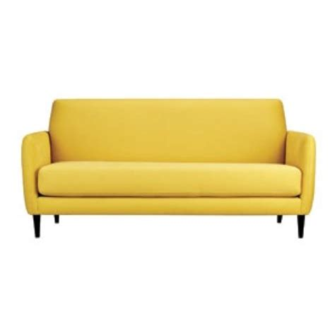 light yellow sofa yellow couch home pinterest