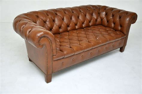 Chesterfield Sofa Brown Leather Brown Leather Chesterfield Sofa Baker Image 8
