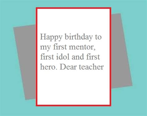 Happy Birthday Wishes To A Mentor Birthday Wishes For Teacher Page 4