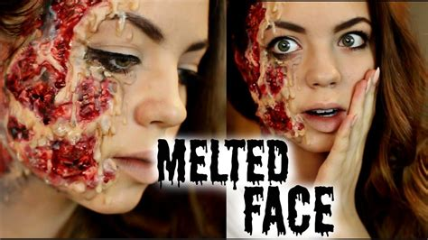 tutorial makeup halloween indonesia halloween makeup tutorial melted face beyondbeautystar
