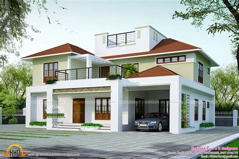 4 bhk contemporary style home 195 square meter kerala home design and floor plans 2650 sq ft modern home kerala home design and floor plans