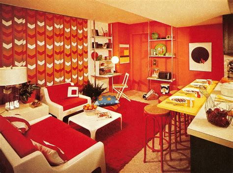 One Story Floor Plan by Interior Five Common 1970s Decor Elements Ultra Swank