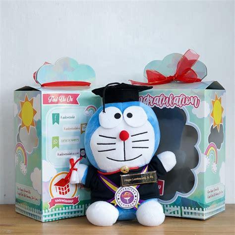 Bunga Doraemon Size jual boneka doraemon wisuda large kado wisudaku