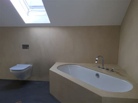 Badezimmer Fugenlos by Fugenloses Badezimmer Gespachtelt Malermeister