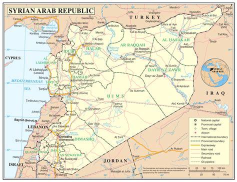 syria on map syrian desert map location labrador sea map location