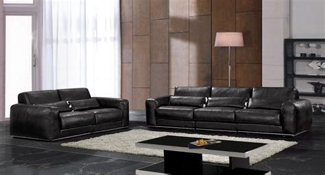Couches Set For Sale by Sale Modern Chesterfield Genuine Leather Living Room