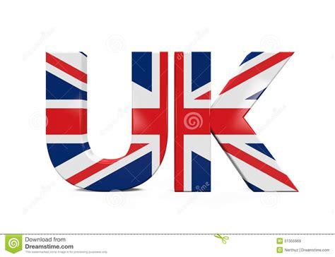 Word Uk Uk Text With Flag Stock Illustration Image 51355969