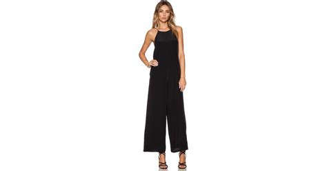 shop bianca spender chandelier jumpsuit in black at helena quinn bianca jumpsuit in black lyst