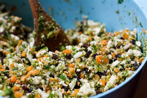 Detox Salad With Kale Broccoli And Cauliflower by Detox Salad Oh She Glows