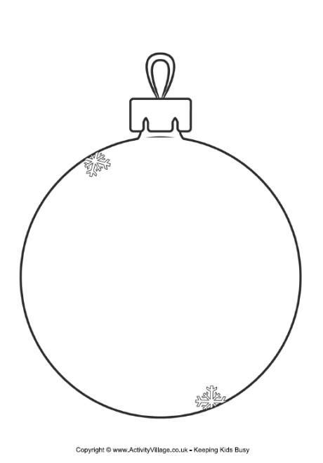 printable christmas tree baubles christmas bauble templates happy holidays