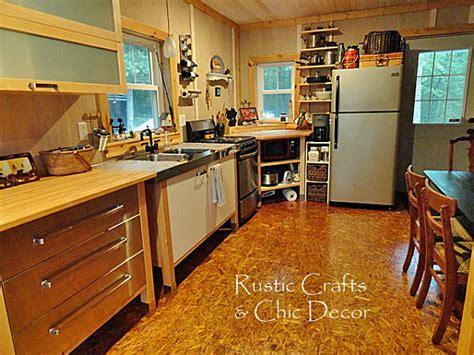 diy kitchen floor ideas creative diy flooring ideas rustic crafts chic decor