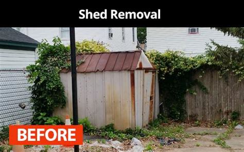 Shed Removal Cleanout Junk Removal Services Nyc