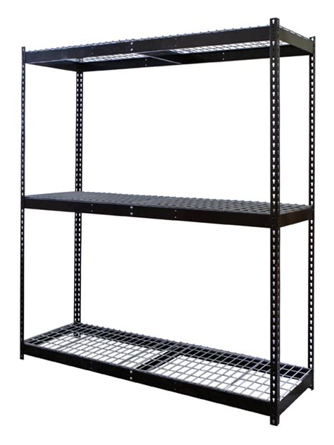 boltless black steel shelving rivetwell black shelving
