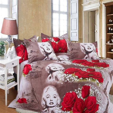 Marilyn Bedding Set by 3d Bedding Sets Flower Newest Marilyn Bed Set In A