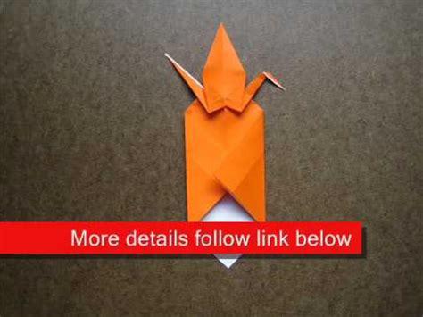 Origami Crane Bookmark - origami crane bookmark
