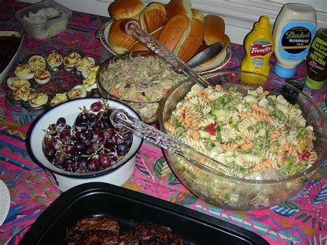 mother s day 08 cookout food deviled eggs cole slaw