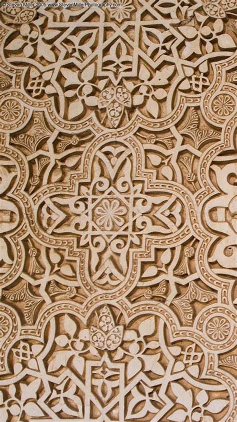 background pattern arabic arabic pattern alhambra texture wallpaper iphone 5 640