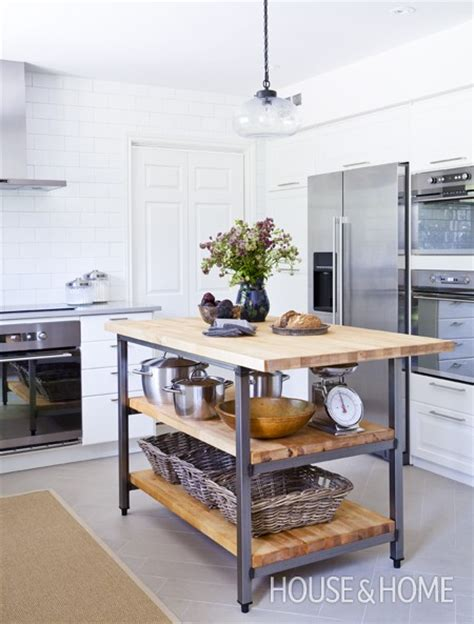 industrial kitchen island house home