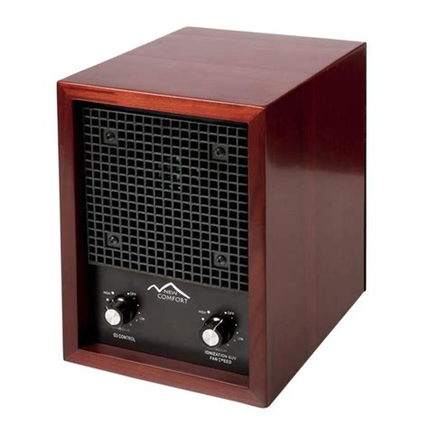 new comfort cherry 03 1000 ozone generator and ion air purifier 03 1000 the home depot