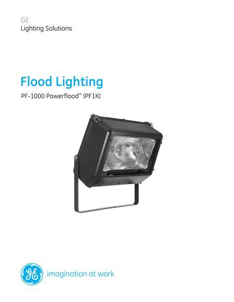 PF1K Powerflood PF-1000 Floodlight