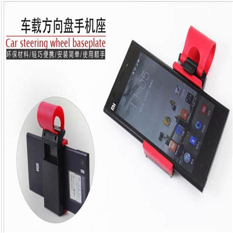 Remax Car Steering Wheel Mount Universal Mini Phone Hol universal car steering wheel bike clip mount holder for iphone for cell phone f4 ebay