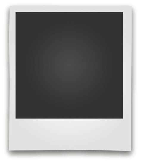 polaroid picture template free polaroid picture frame vector design