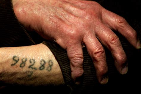 holocaust tattoos how holocaust survivor bernard marks survived auschwitz