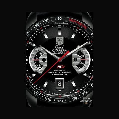 Tagheuer Grand Calibre 17 tag heuer grand calibre 17 rs2 chronographe
