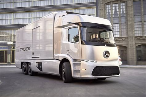 electric truck mercedes electric truck could rival tesla business insider
