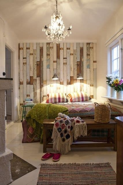 boho shabby chic bedroom tags classy bohemian bedroom 30 wood accent walls to make every space cozier digsdigs